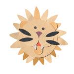 figura leone - modulo plus cartoni animali