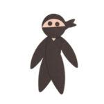 Cartoni animali ninja